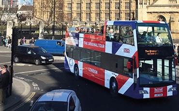 Hop-On Hop-Off London Bus Tour - City Sampler)