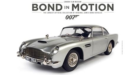 London Film Museum: Bond in Motion